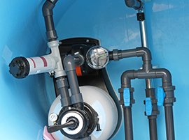 A Pool Filter System Serviced & Repaired by Pro Pool & Spa