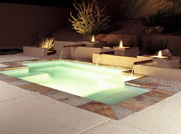 In Ground Spa Designed & Installed in Cleveland by Pro Pool & Spa