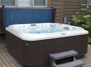 Hot Tub Spa that was Serviced by Pro Pool & Spa Company